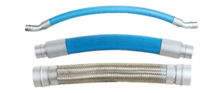 Flexible hoses : allow for expansion and contraction of the piping system