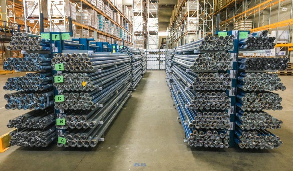 Airpipe Europe : stock warehouse