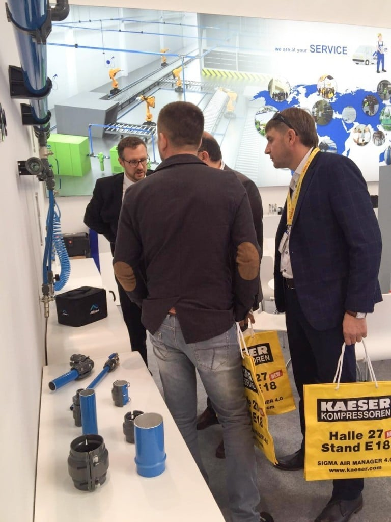 Airpipe Europe at Hannover Fair 2017