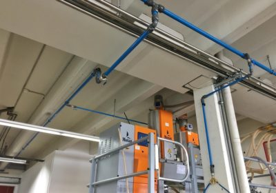 Kläger Plastik chooses AIRpipe to replace its steel pipes network