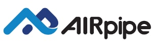 logo AIRpipe, compressed air piping systems